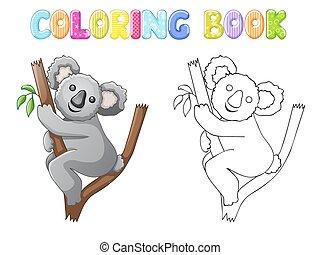 Coloring koala