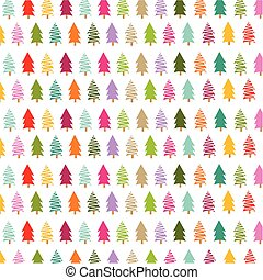colorito, alberi natale, scheda