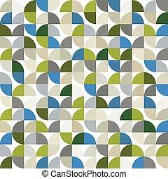 colorito, astratto, geometrico, quadrato, seamless, vettore, fondo