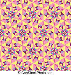 colorito, astratto, illustrazione, fondo., vettore, geometrico