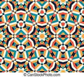 colorito, astratto, pattern., seamless, fondo., geometrico