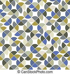 colorito, astratto, quadrato, seamless, fondo, vettore, geometrico