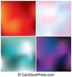 colorito, astratto, sfondi