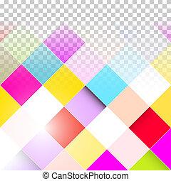 colorito, astratto, squadre, trasparente, fondo, -, vettore