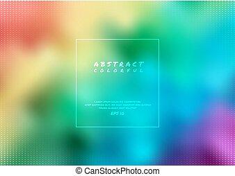 colorito, astratto, stile, tuo, festa, disegno, moderno, fondo, arcobaleno, testo, halftone, spazio