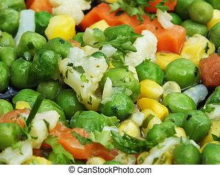 colorito, cotto, verdura