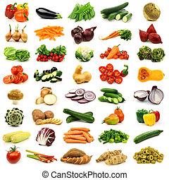 colorito, e, verdure fresche