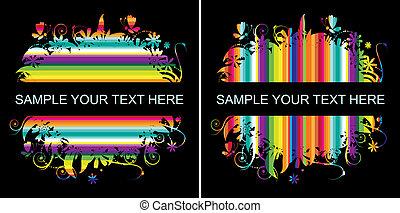 colorito, fondo, con, posto, per, tuo, testo