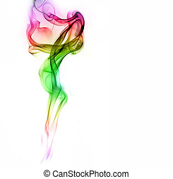 colorito, fumo