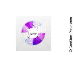 colorito, futuristico, fondo, radiale