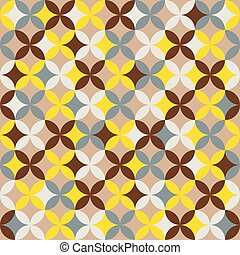 colorito, geometrico, seamless, modello, fondo., astratto, design.