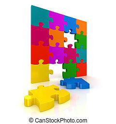colorito, jigsaw confondono