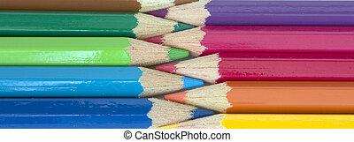 colorito, matite