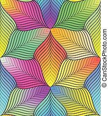 colorito, modello, astratto, linee, seamless, fondo., geometrico