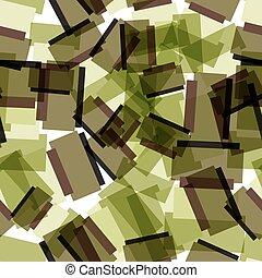 colorito, modello, astratto, seamless, tessile, verde, squadre