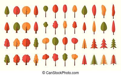 colorito, modello, seamless, albero, fondo, natale