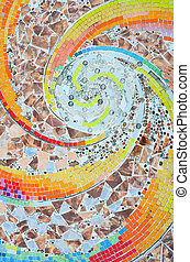 colorito, mosaico