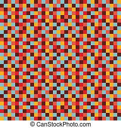 colorito, mosaico, fondo