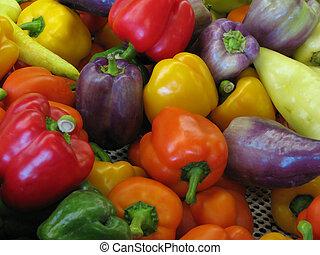 colorito, peperoni