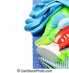 Colorito lavoro prodotti tema pulizia casa foto - Pulizia casa dopo lavori ...