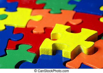 colorito, puzzle