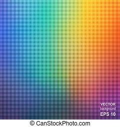 colorito, quadrato, arcobaleno, astratto, fondo.