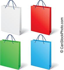 colorito, sacchetto spesa