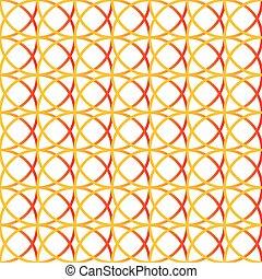colorito, seamless., repeatable, fondo, circles., intersecare