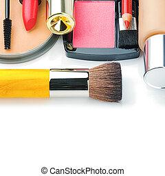 colorito, trucco, prodotti