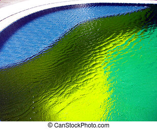 Colors in a pool