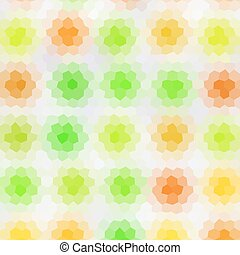 Colors low poly hexagon style vector mosaic background
