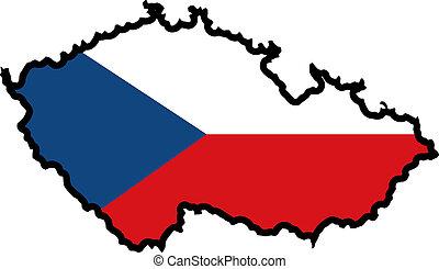 colors of Czech Republic