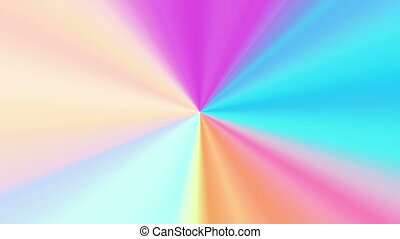 colors spectrum rotation 4K - The radiant rotating...
