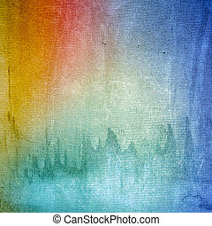 Colors wall grunge texture