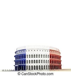 colossem isolated on white background