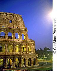 colosseum, ローマ, イタリア