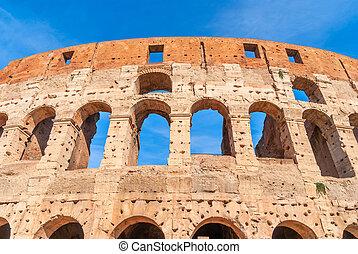 colosseum, 古代, 本, 観光名所, 1(人・つ), europe., ローマ人