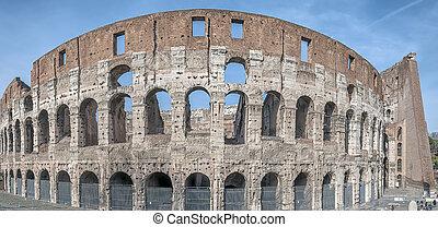 colosseum, außen, rom