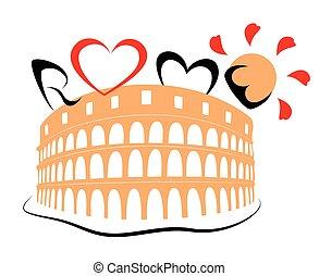 Colosseum Coliseum - Rome's histori