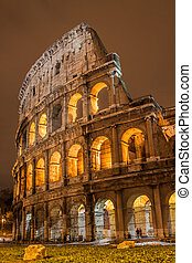 Colosseum in Rome, Italy - The Iconic, the legendary...