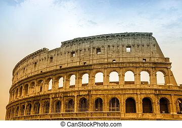 colosseum, italië, rome