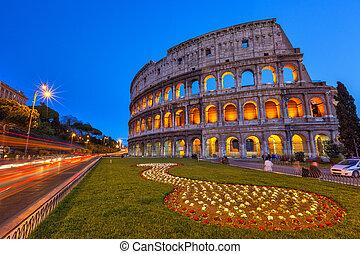 Colosseum, Nacht