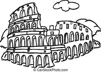 colosseum, rom