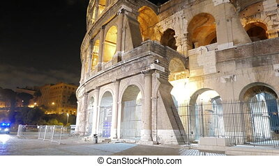 Colosseum. Rome by night. Italy