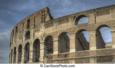 Colosseum Rome - Timelapse of the Colosseum in Rome