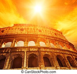 colosseum, (rome, italy)