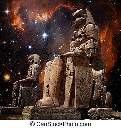 colossus, de, memnon, e, pequeno, magellanic, nuvem, (elements, de, este
