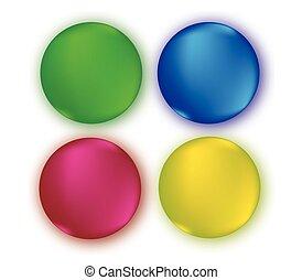 Colour Button Design