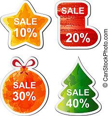 Christmas sale - Colour Christmas sale set for you site. ...