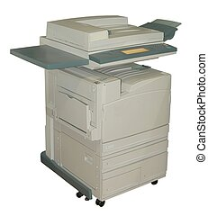 Colour copier - Clour lasier copier isolated